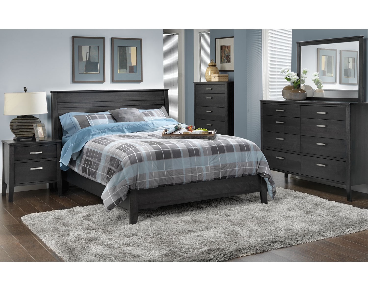 The Yorkville Collection - Charcoal