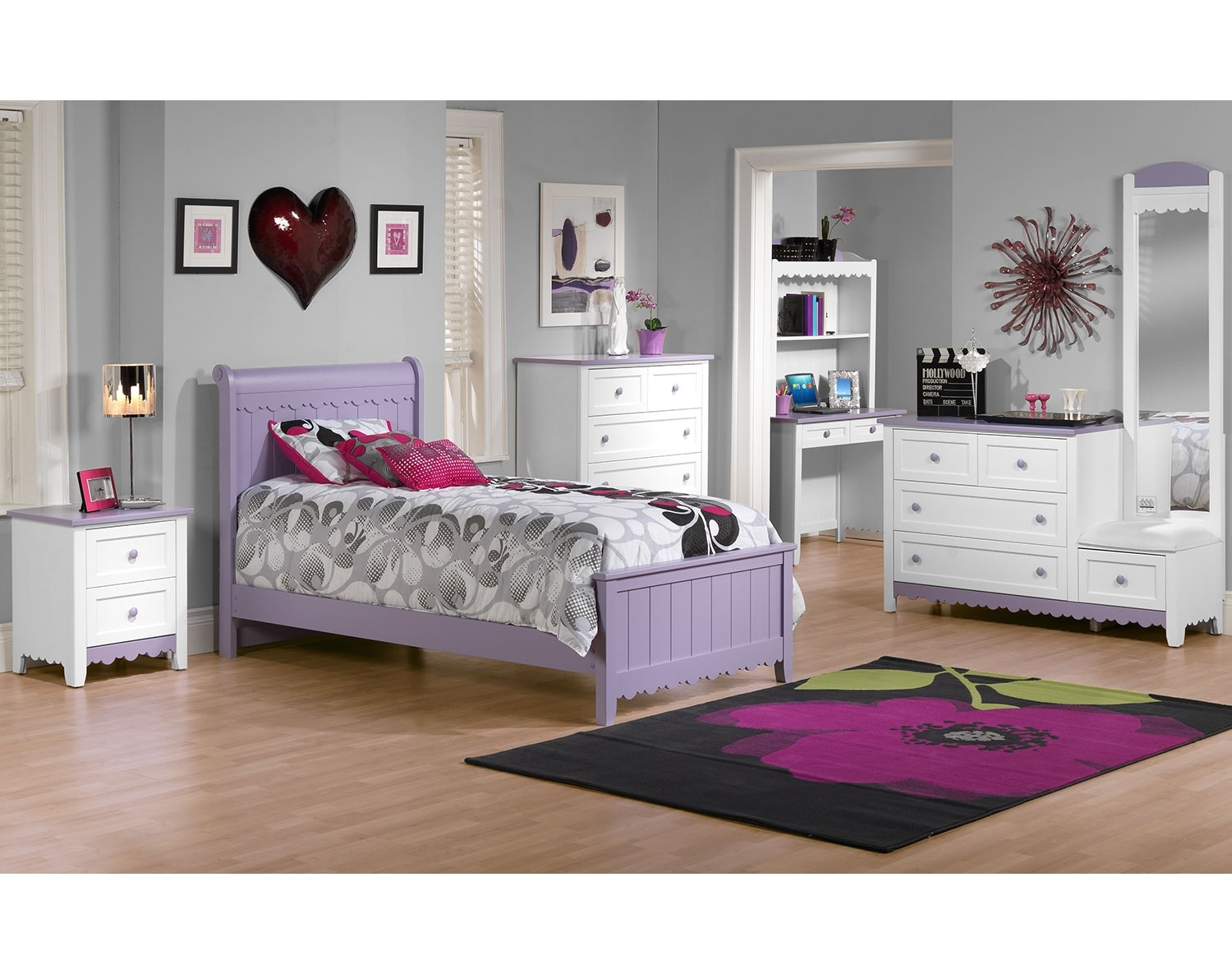 The Sweetdreams Collection - White and Lavender
