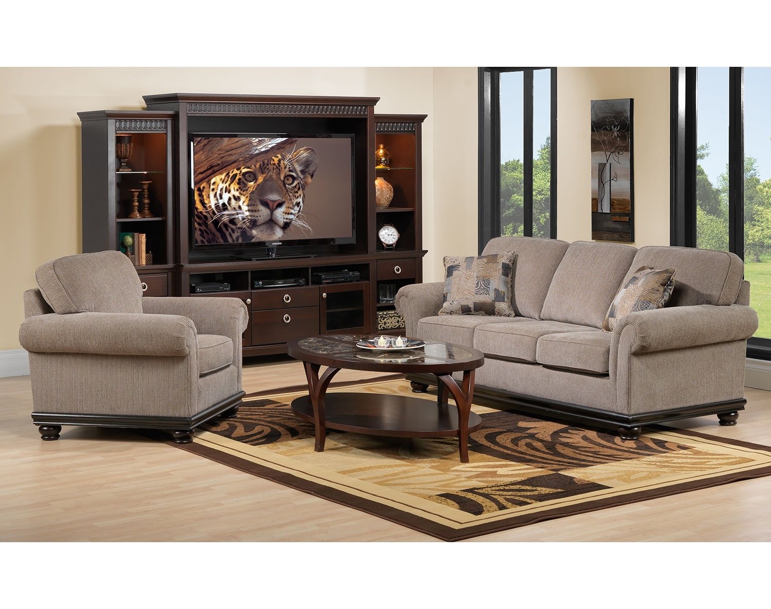 The Tarano Collection - Light Brown