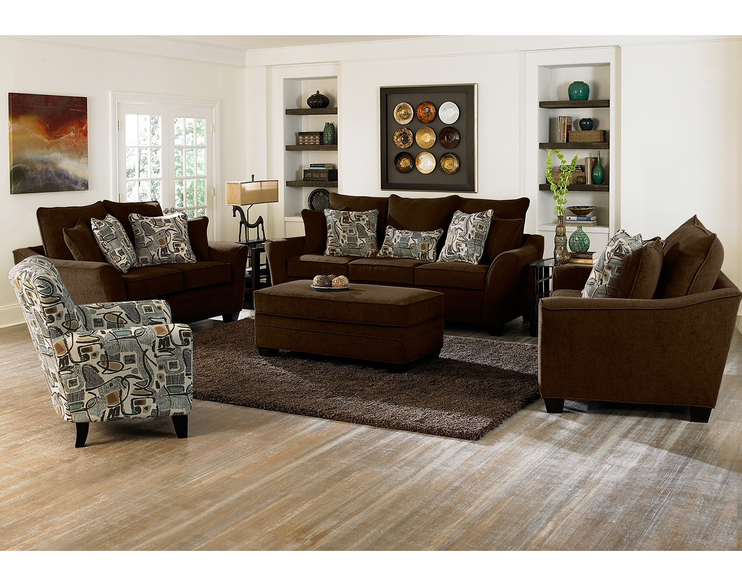 Living Room Furniture - The Albion Chocolate Collection - Sofa