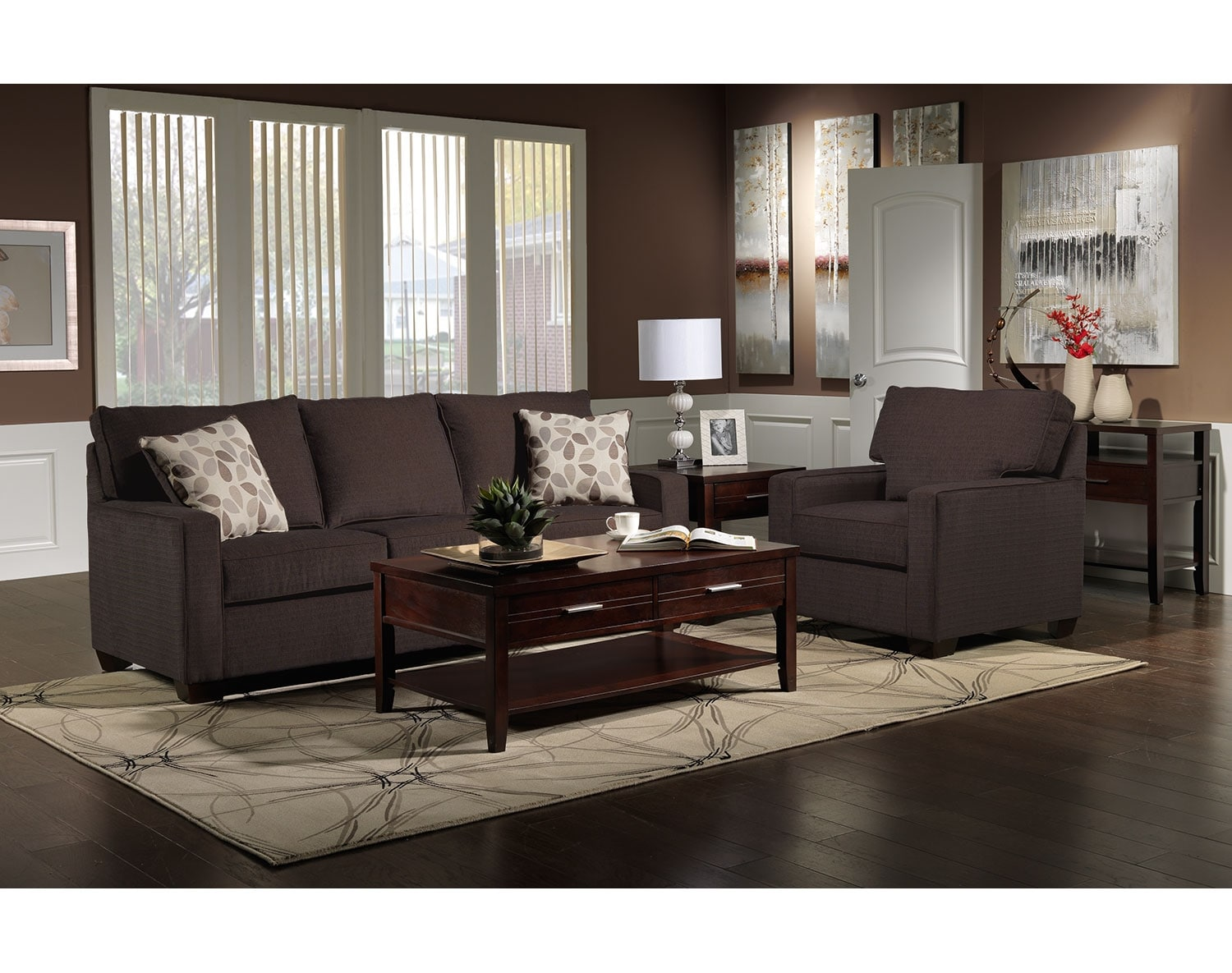 The Perkin Collection - Deep Brown