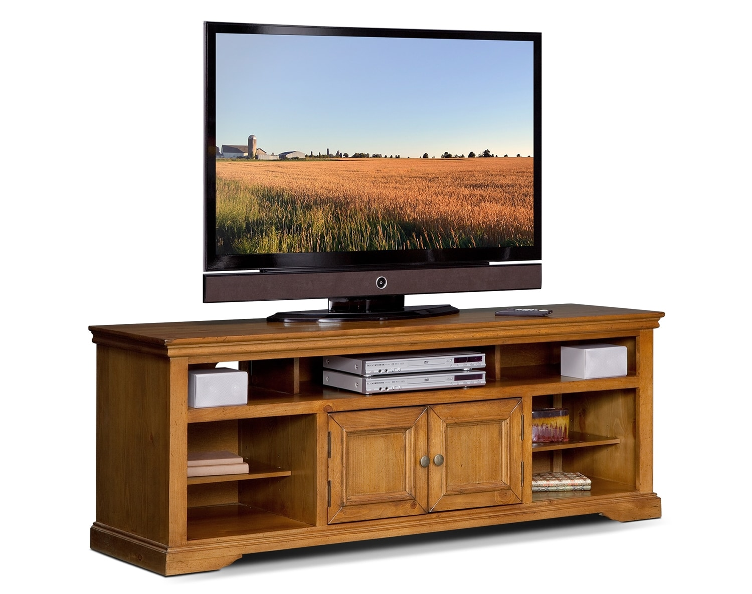 """Entertainment Furniture - The Thornton II Collection - 70"""" TV Stand"""