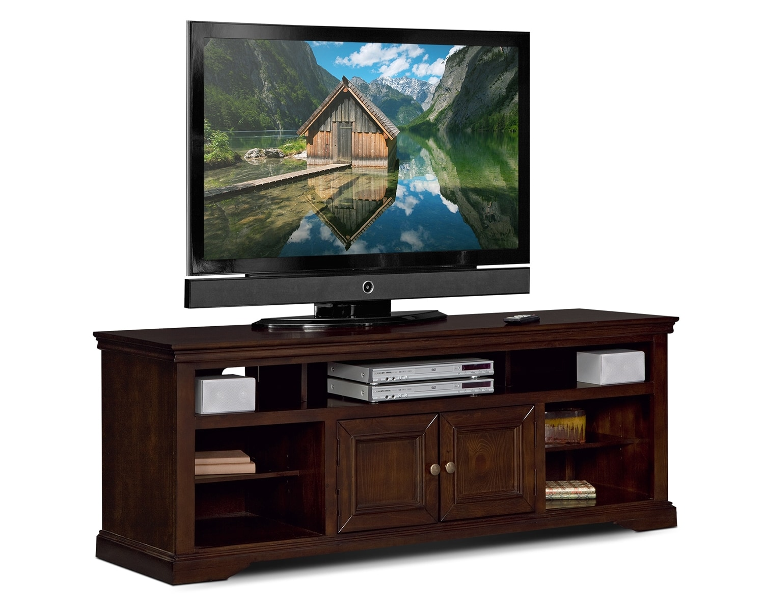 "Entertainment Furniture - The Thornton III Collection - 70"" TV Stand"