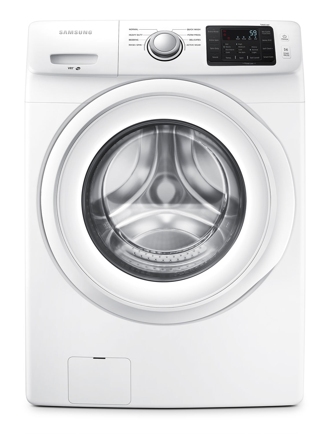 Washers and Dryers - Samsung 4.8 Cu. Ft. Front-Load Washer  - WF42H5000AW/A2
