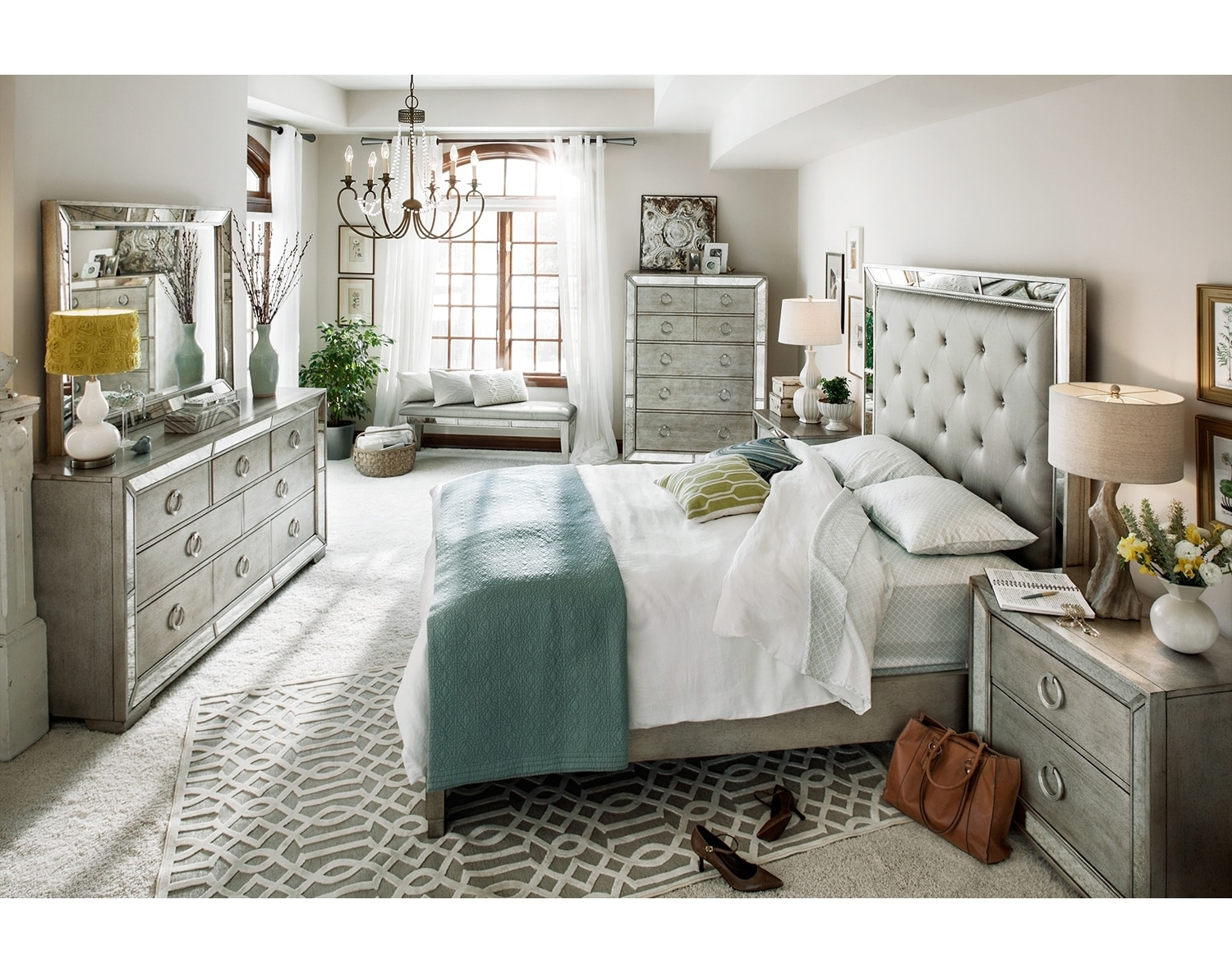 Bedroom Furniture - The Blair Collection - Queen Bed