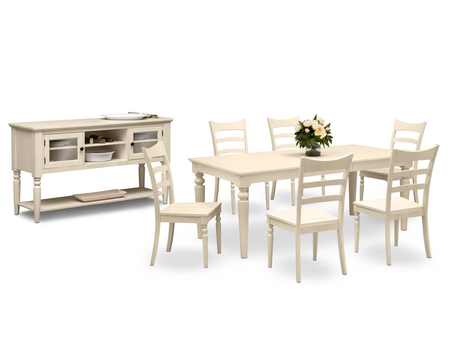 Dining Room Furniture - The Thompson Cream Collection - Table