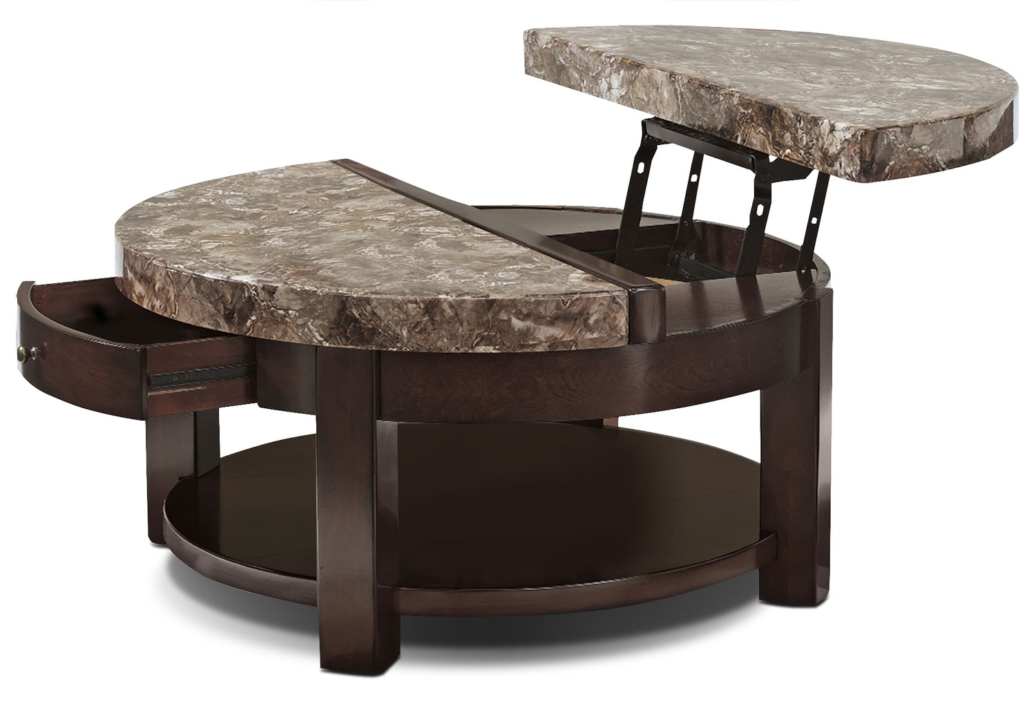 Accent and Occasional Furniture - Emerson Coffee Table with Lift Top