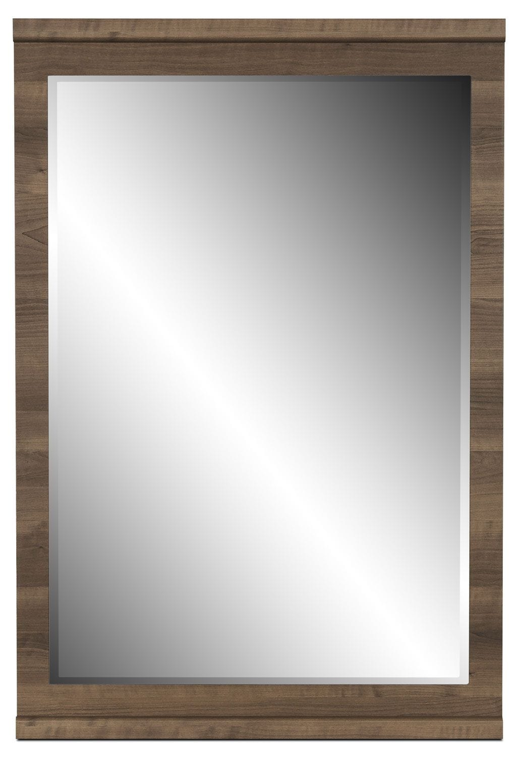 Bedroom Furniture - Loft Mirror – Grey-Brown