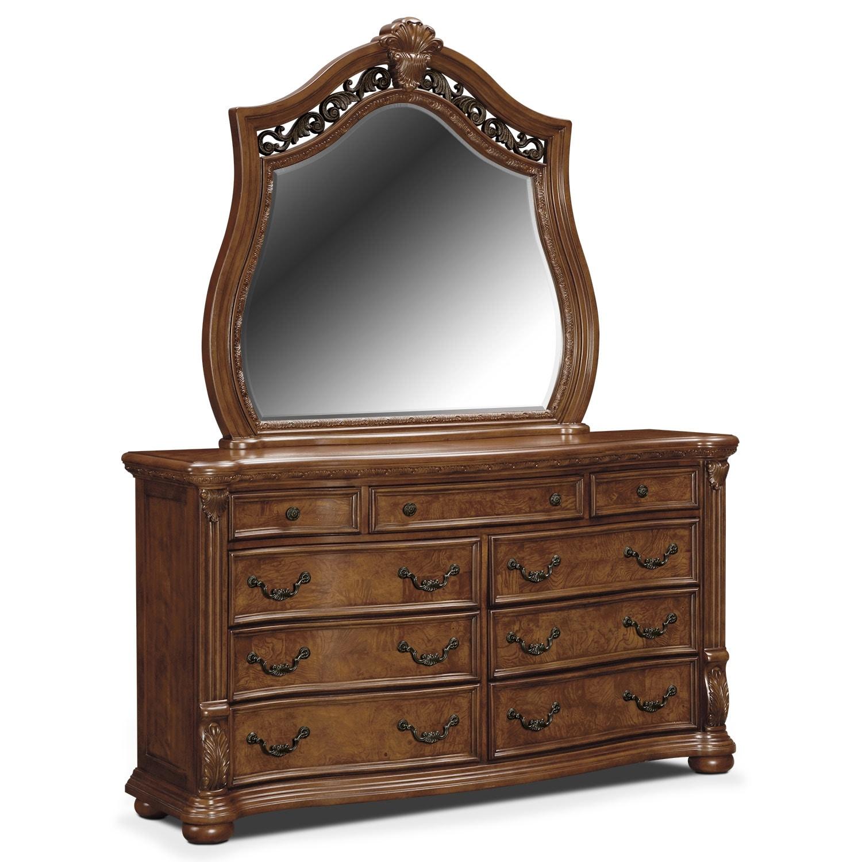 [Morocco Dresser & Mirror]