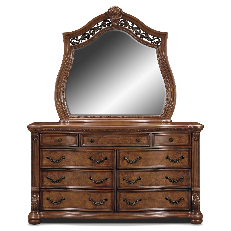 Morocco Dresser Mirror Value City Furniture