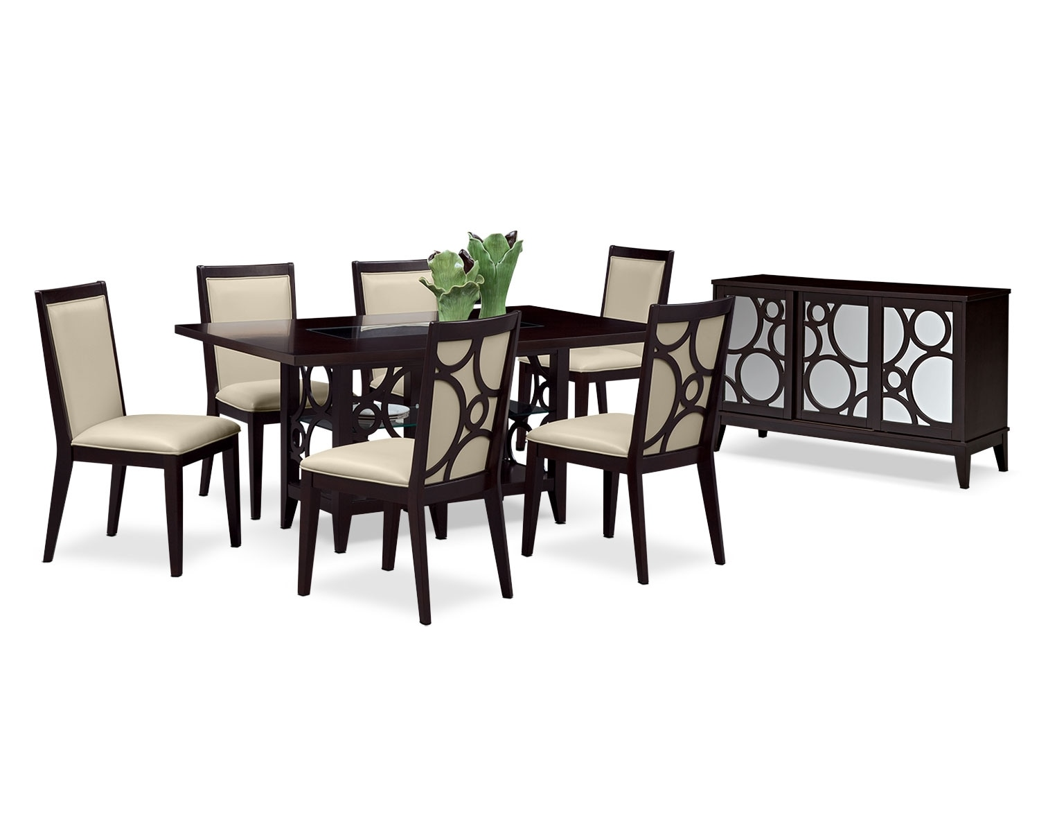 Dining Room Furniture - The Brighton Parchment Collection - Server