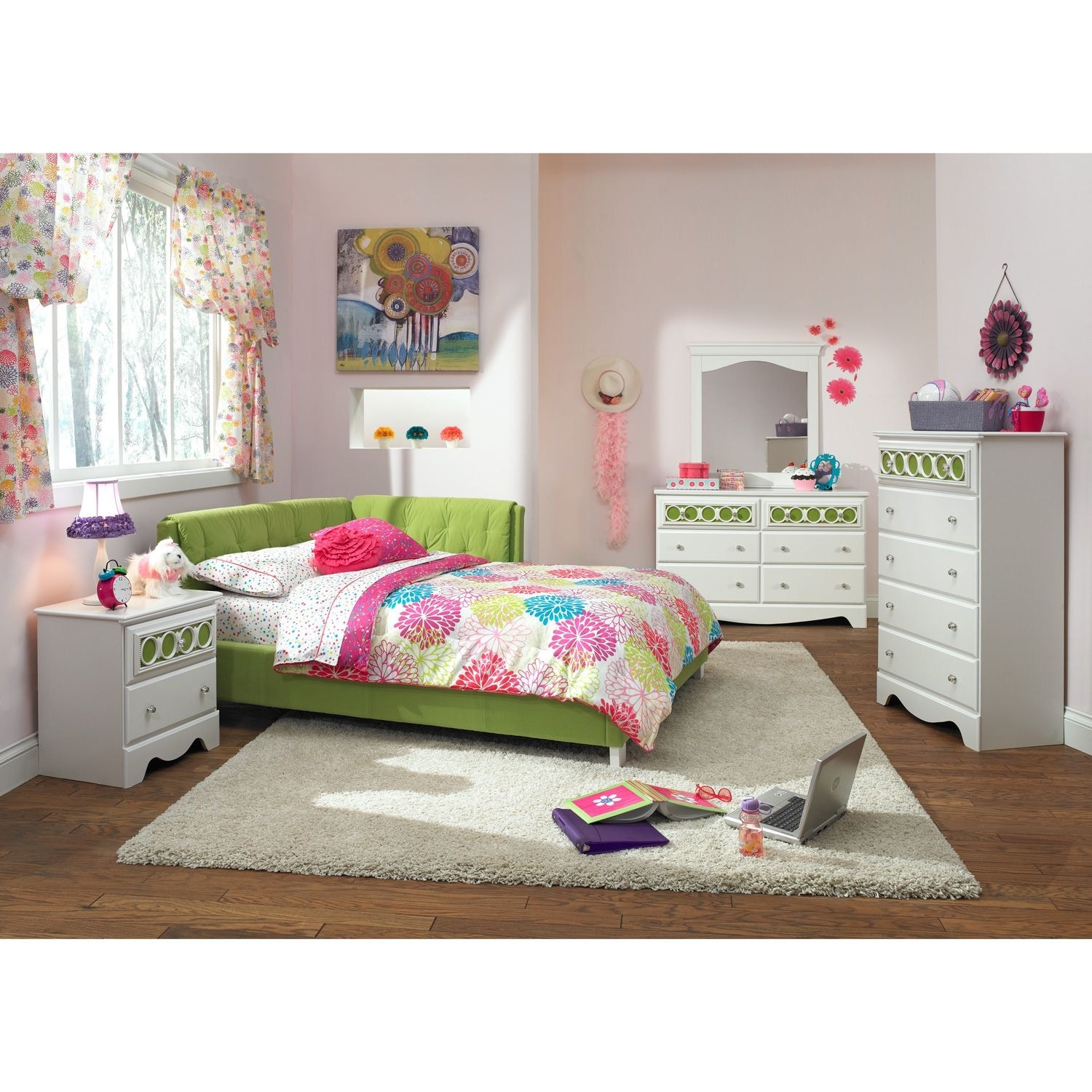 corner bedroom furniture corner bed green value city furniture 11269