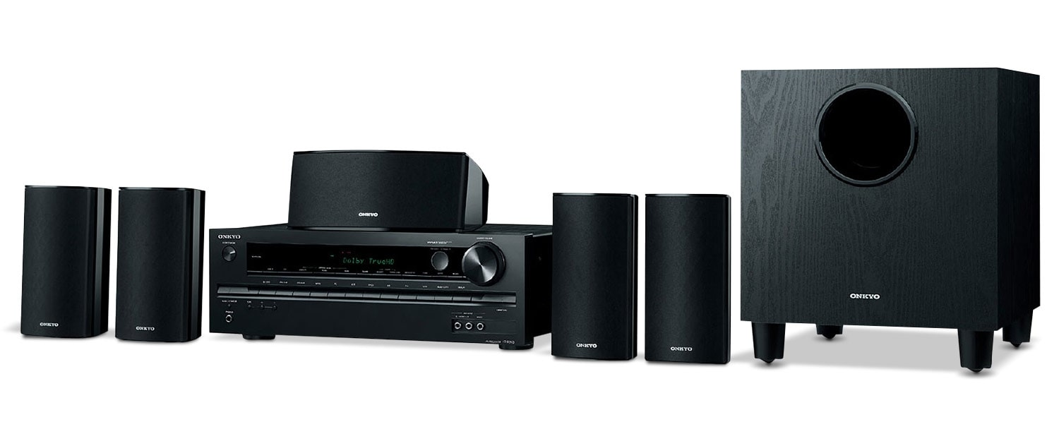 Sound Systems - Onkyo Home Theatre System HTS3700