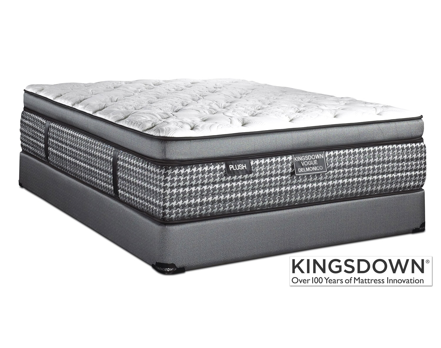 Kingsdown Delmonico Plush Mattress Collection