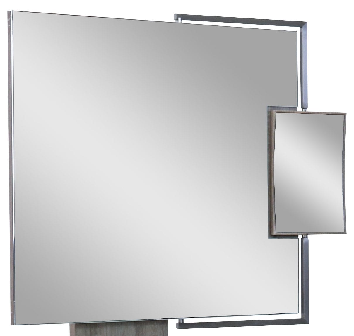 Bedroom Furniture - Dane Mirror - Grey