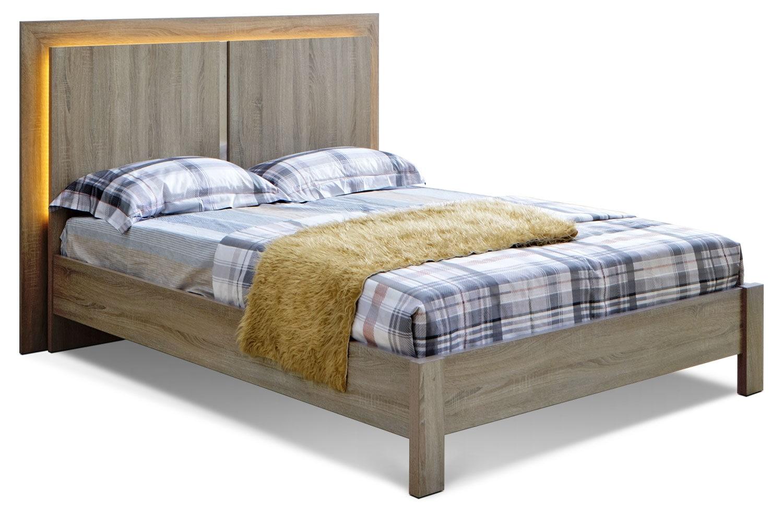 Bedroom Furniture - Dane King Bed - Grey