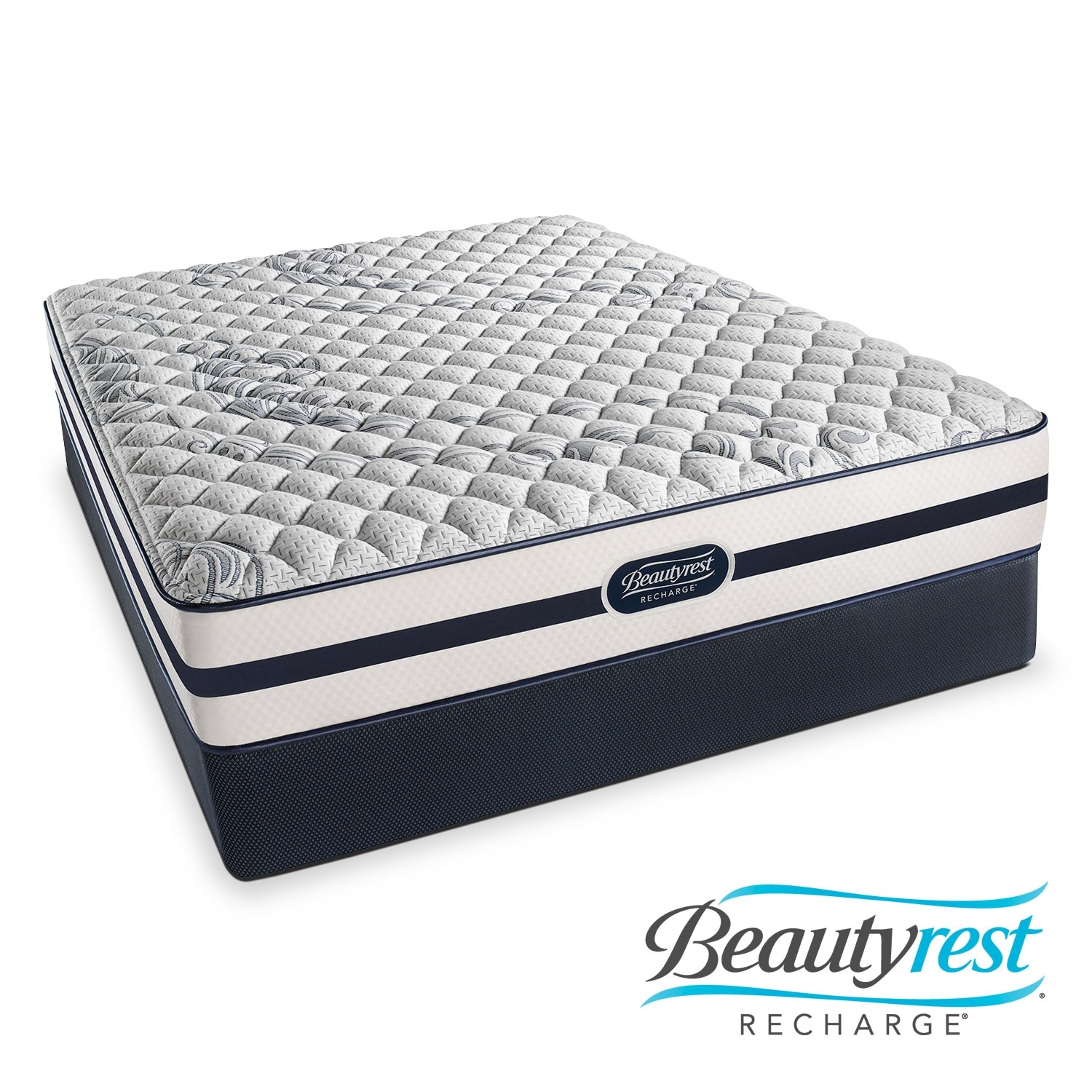 [Alisa Firm King Mattress/Split Foundation Set]