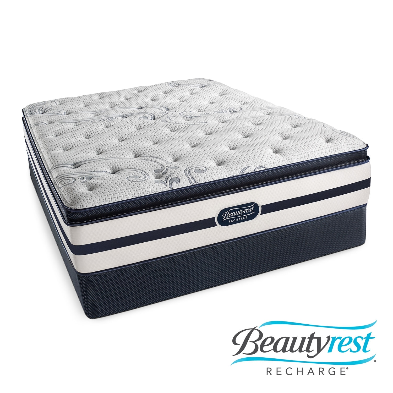 [Alisa Plush PT King Mattress/Split Foundation Set]