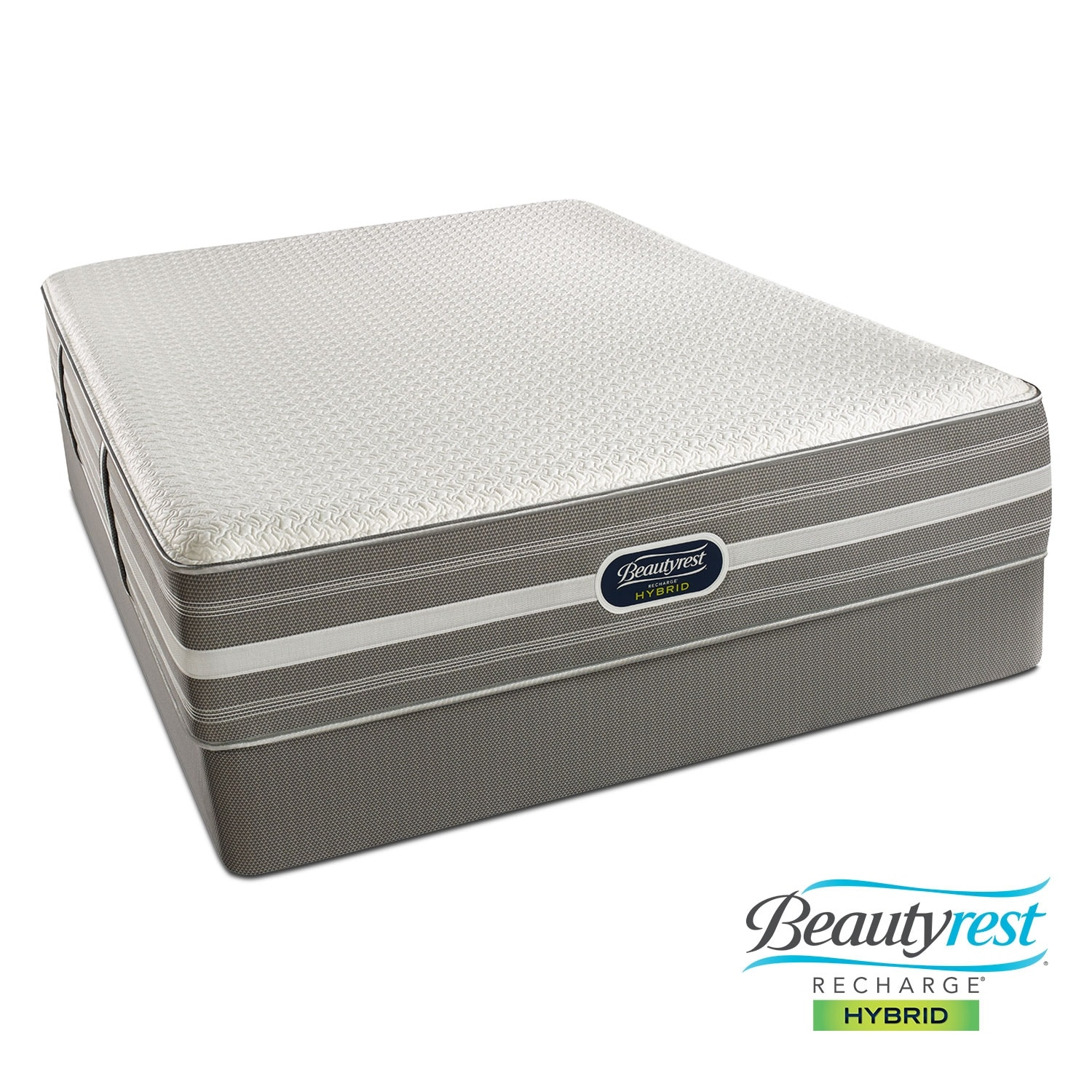 [Lamour Plush Queen Mattress/Foundation Set]