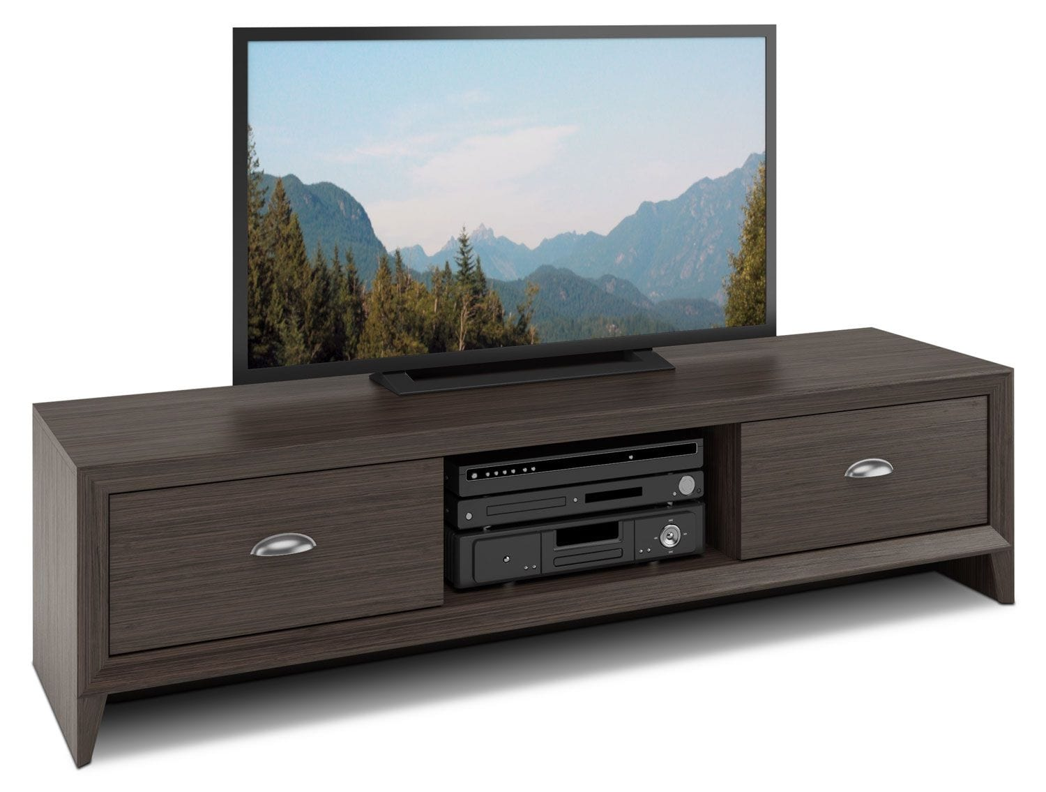 Televisions - Lakewood TV Stand - Dark Wenge