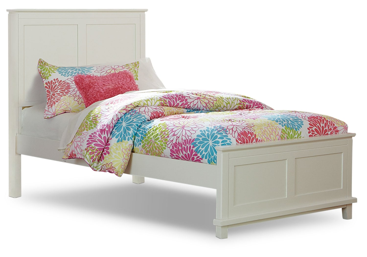 Kids Furniture - Chadwick Full Bed - White