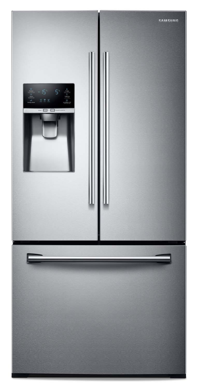 Refrigerators and Freezers - Samsung Stainless Steel French Door Refrigerator (25.5 Cu. Ft.) - RF26J7500SR/AA