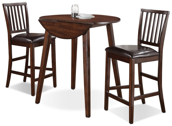 Dining Room Furniture - Adara 3-Piece Counter Height Dining Package