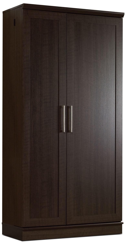 """Accent and Occasional Furniture - Clinton 35"""" Storage Cabinet – Dakota Oak"""