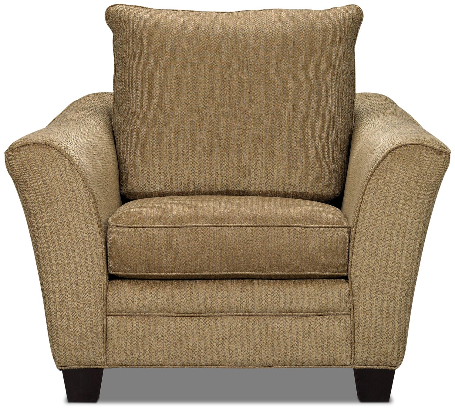 Living Room Furniture - Allen Chenille Chair – Taupe