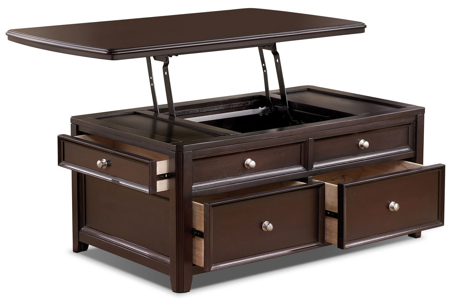Carlyle Coffee Table With Lift Top United Furniture Warehouse