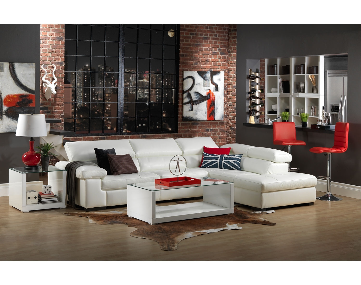 The Underwood Sectional Collection - White