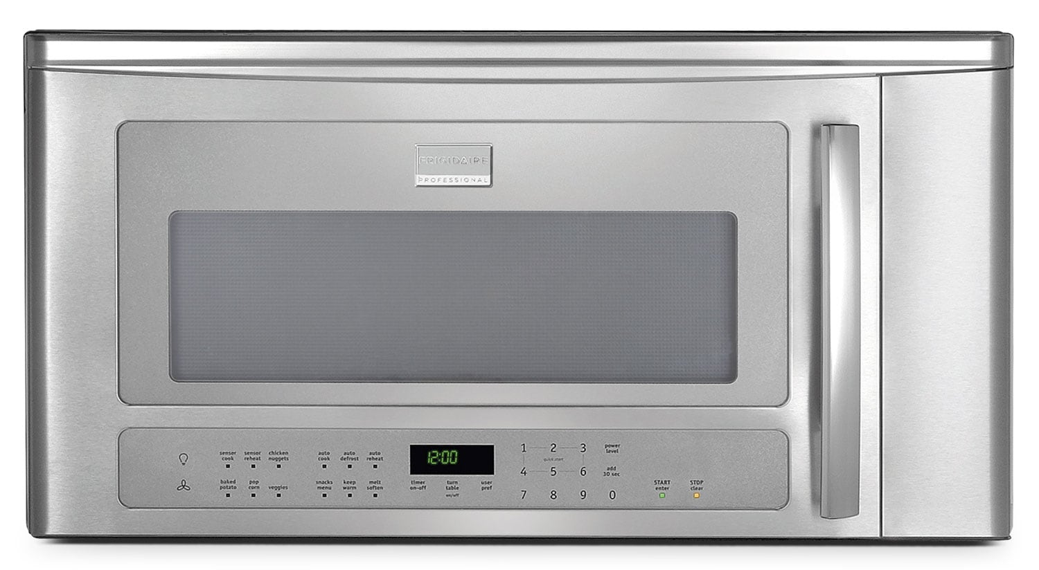 Cooking Products - Frigidaire Professional Over-the-Range Microwave CPBM189KF