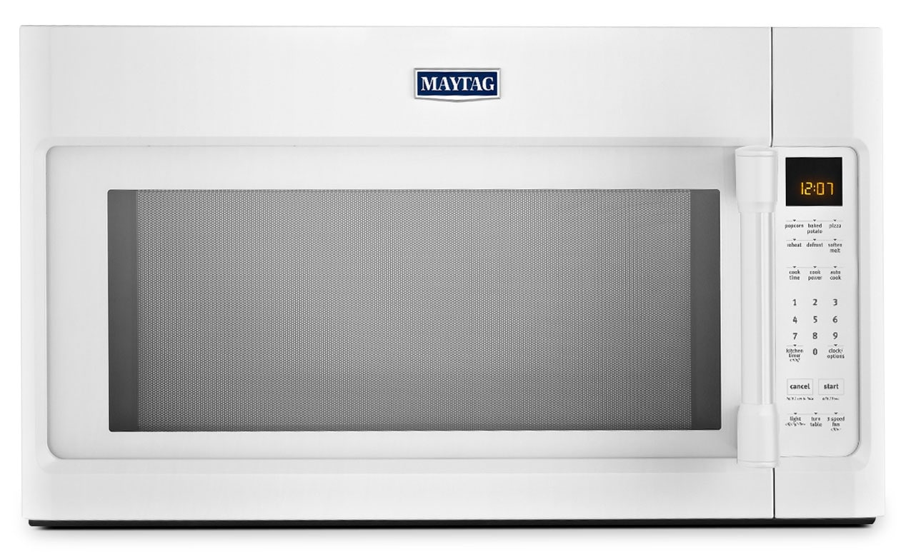 Cooking Products - Maytag White Over-the-Range Microwave (2.0 Cu. Ft.) - YMMV4205DW