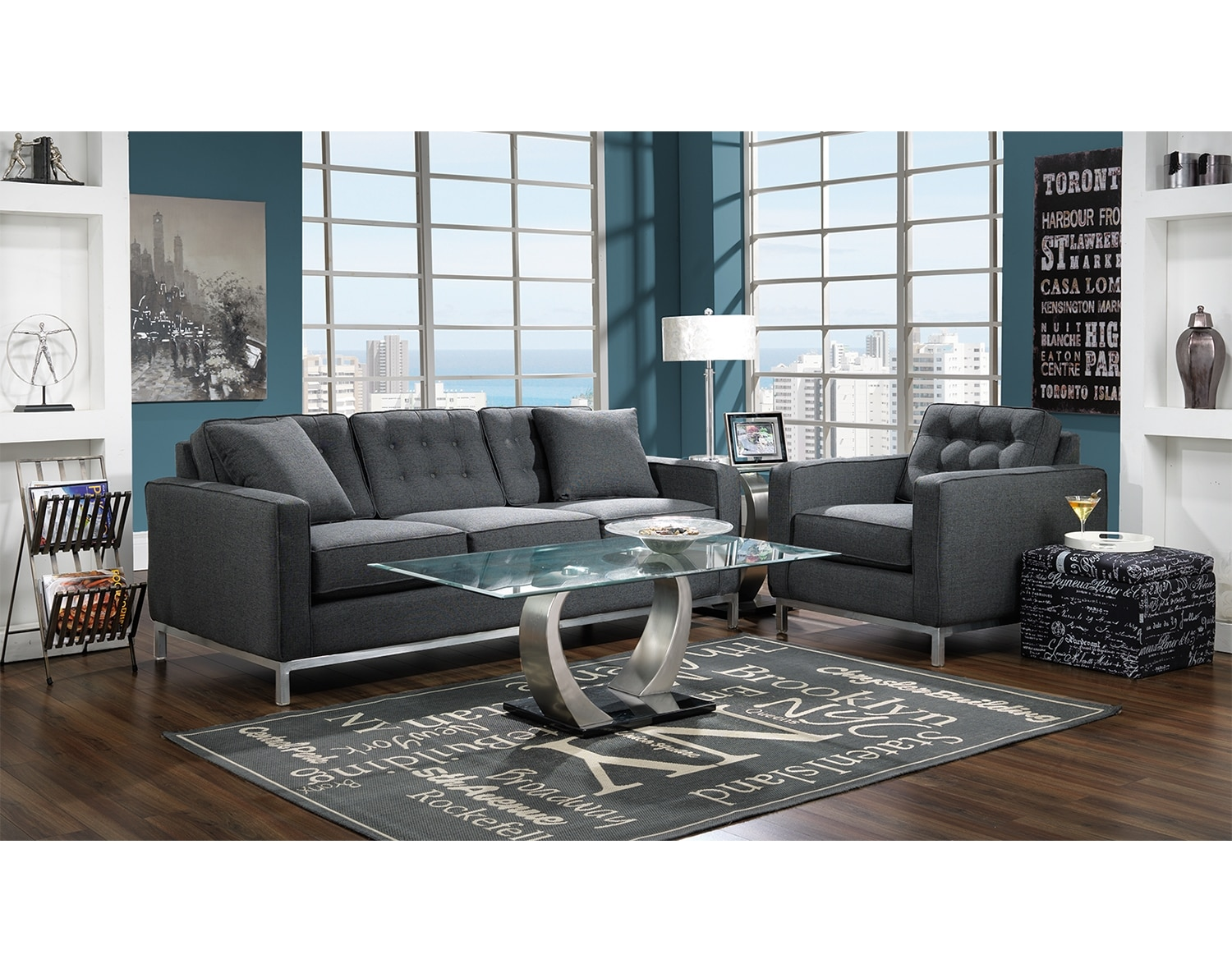 The Brunswick Collection - Charcoal
