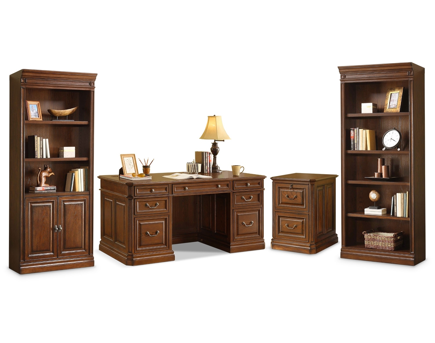 The Johanne Collection - Chocolate Oak