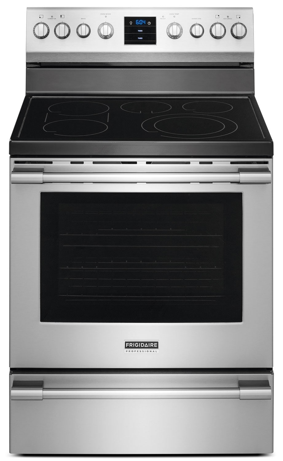 "Cooking Products - Frigidaire Professional 30"" Convection Electric Range - Stainless Steel"