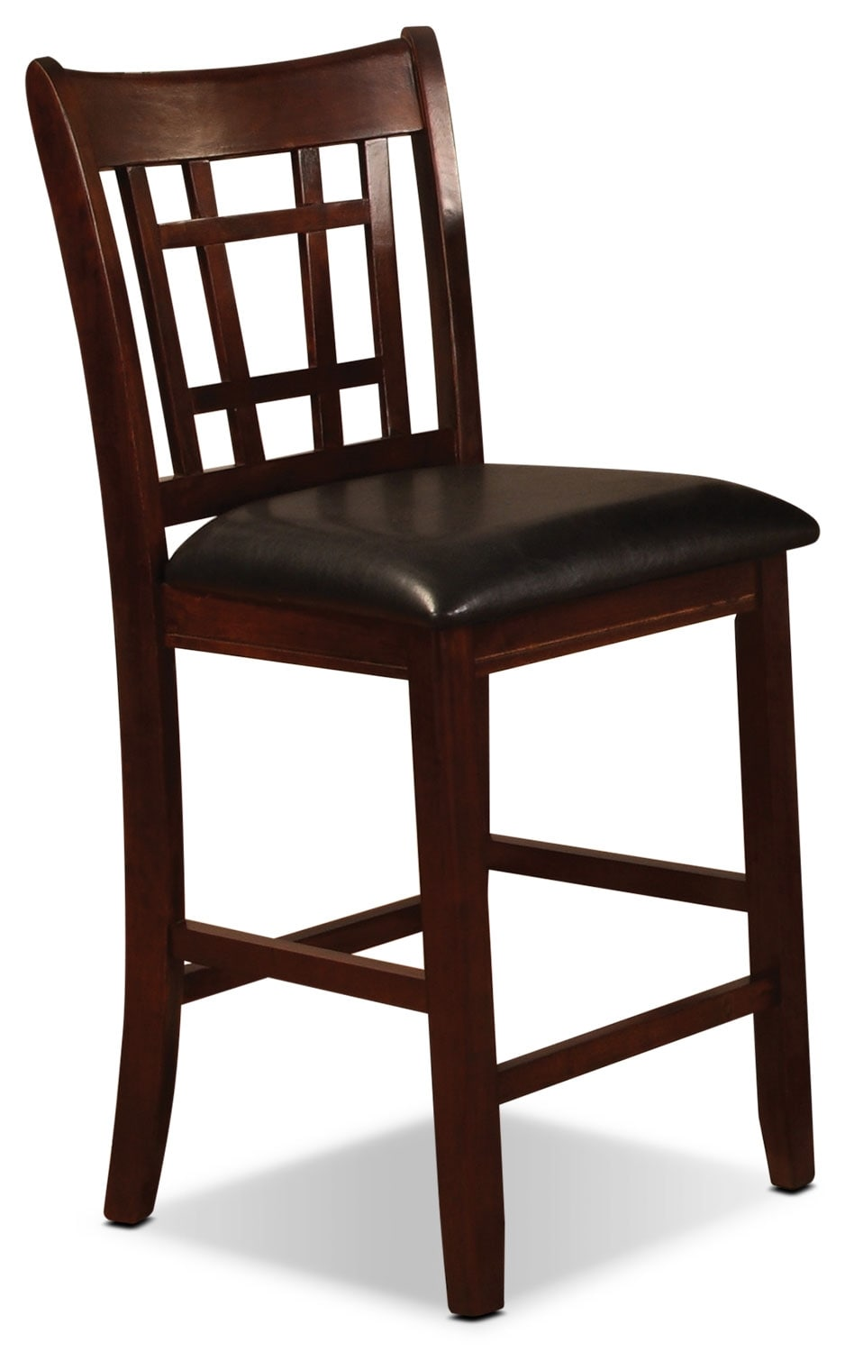 Dining Room Furniture - Dalton Chocolate Counter-Height Chair