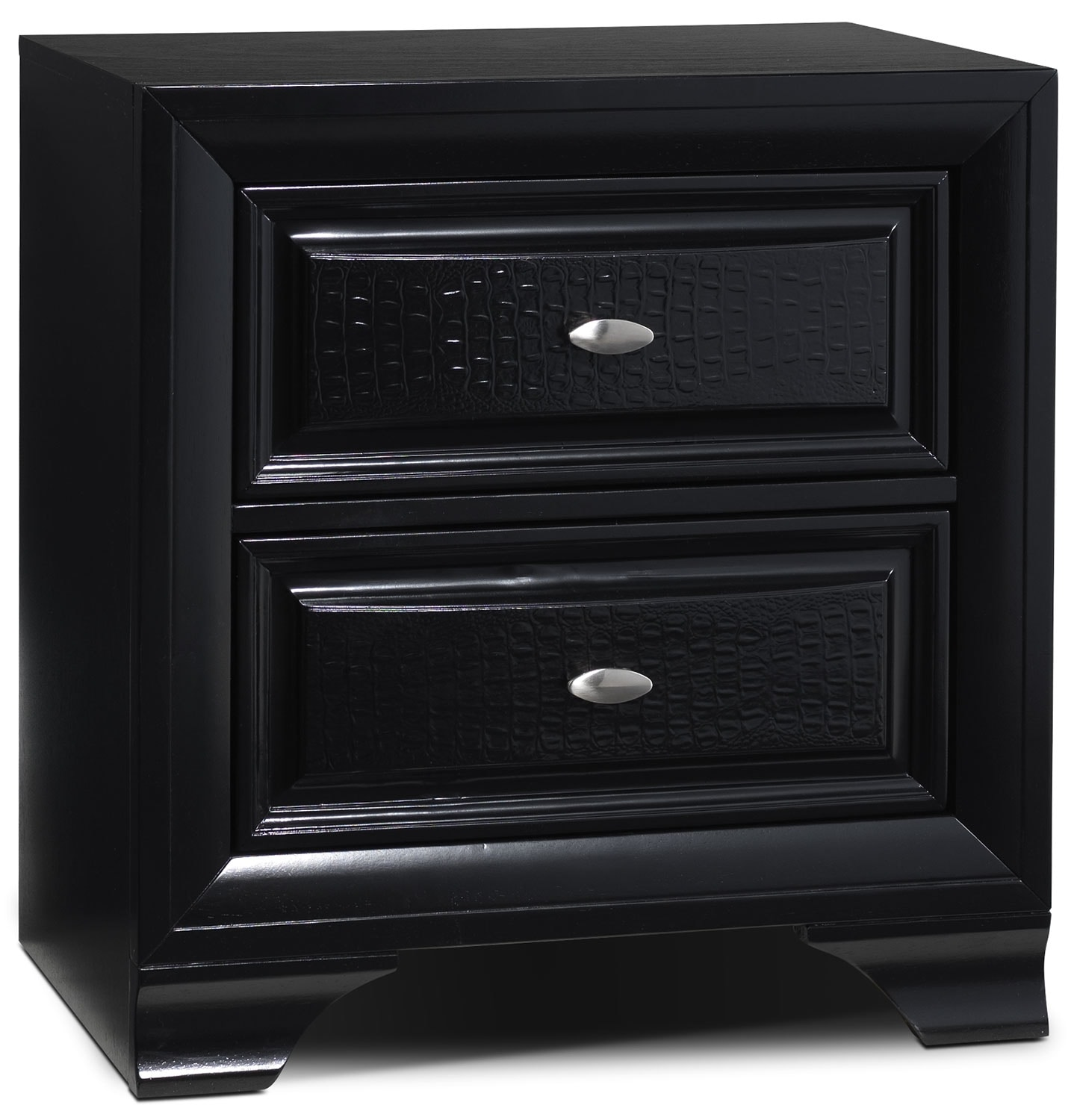 Bedroom Furniture - Roma Night Table - Black