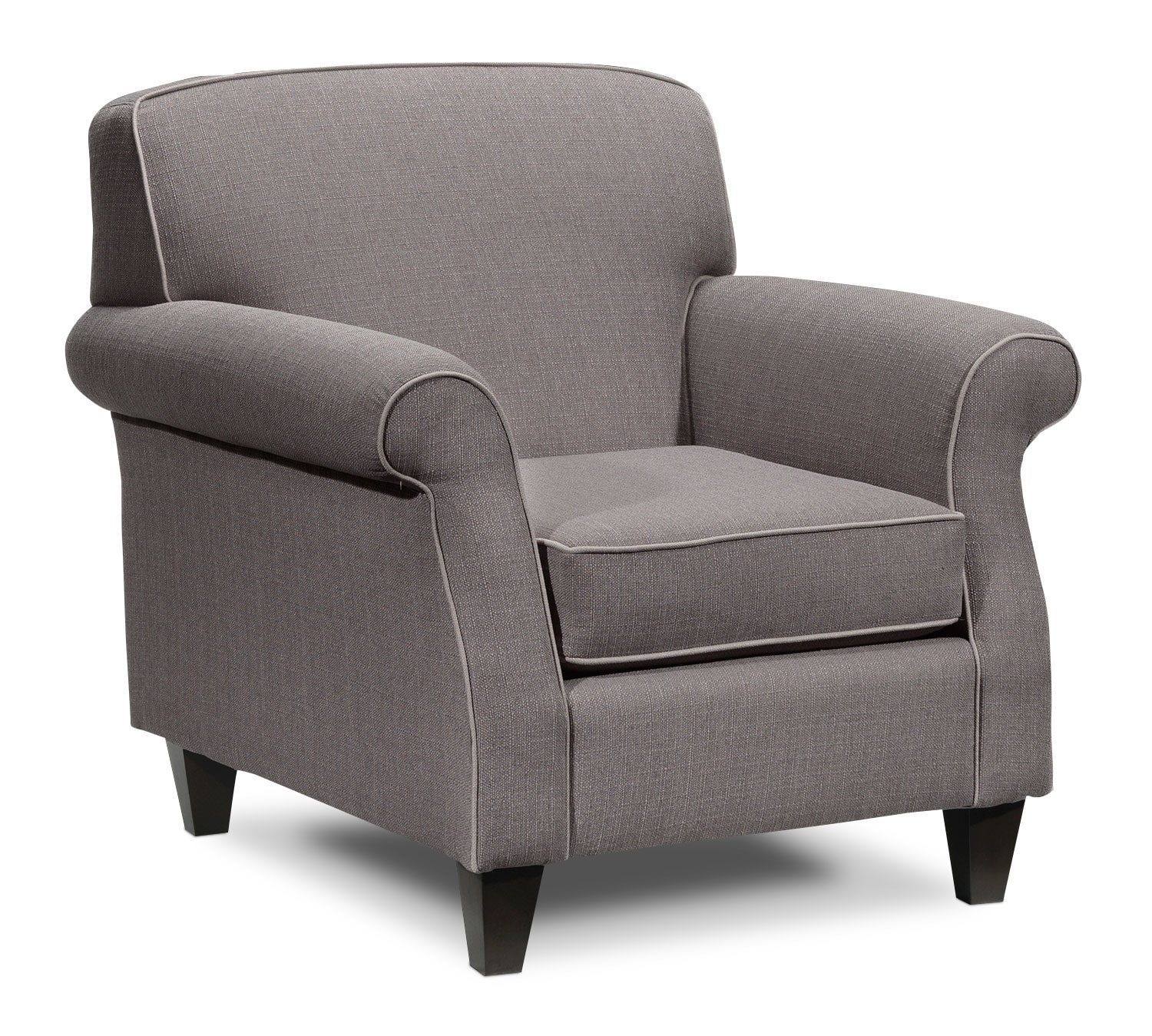 Living Room Furniture - Aristo Chair - Taupe