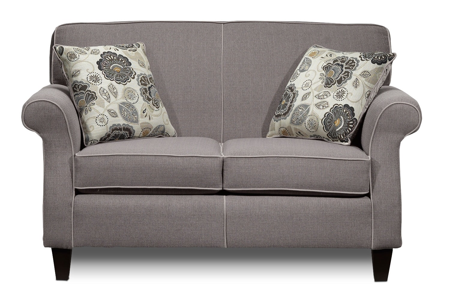 Living Room Furniture - Aristo Loveseat - Taupe