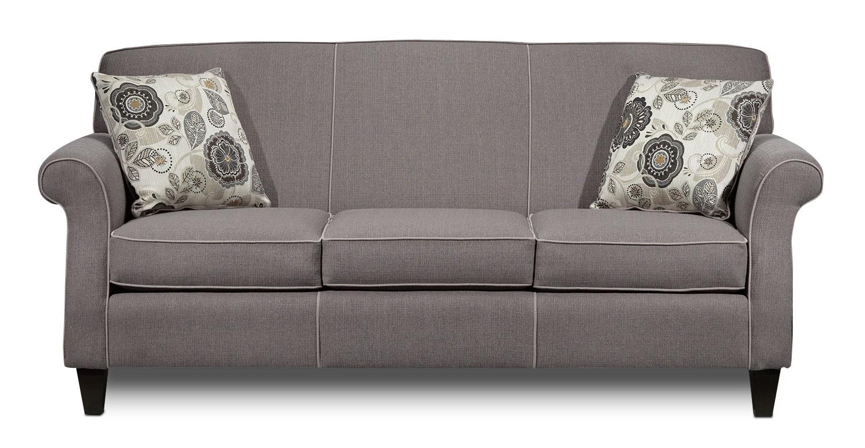 Living Room Furniture - Aristo Sofa - Taupe
