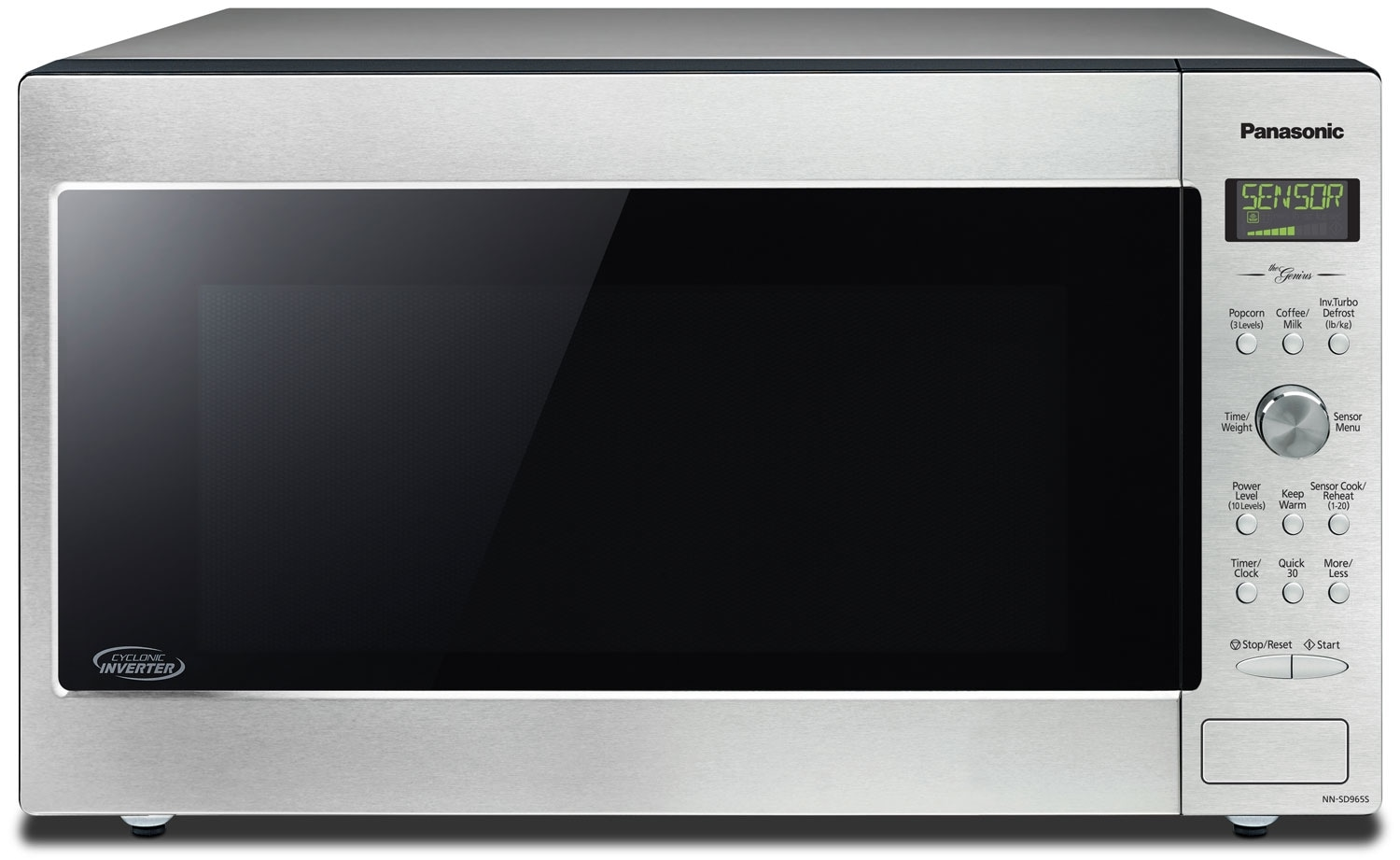 Cooking Products - Panasonic® 2.2 Cu. Ft. Digital Countertop Microwave - Stainless Steel