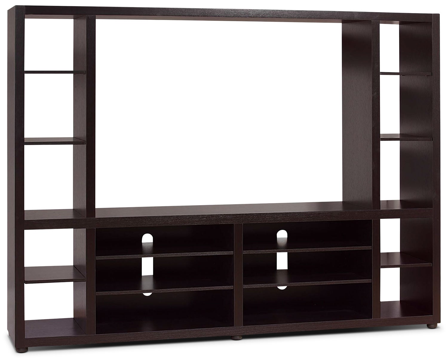 """Entertainment Furniture - Bentley 2-Piece Entertainment Centre with 52"""" TV Opening"""