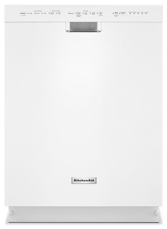 "Clean-Up - KitchenAid White 24"" Dishwasher - KDFE104DWH"