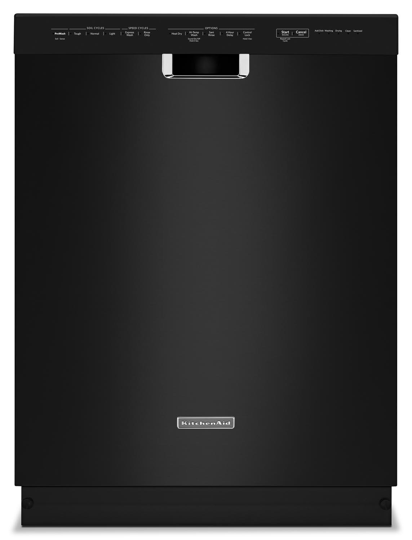 """Clean-Up - KitchenAid Black 24"""" Dishwasher - KDFE104DBL"""