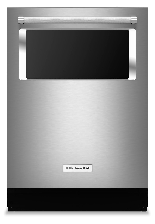 "KitchenAid Stainless Steel 24"" Dishwasher - KDTM384ESS"