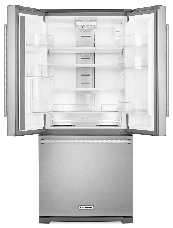 KitchenAid 19.7 Cu. Ft. French Door Refrigerator with Interior ...
