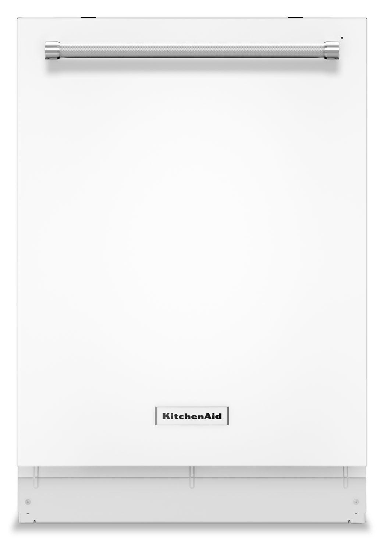 KitchenAid White Dishwasher - KDTM404EWH