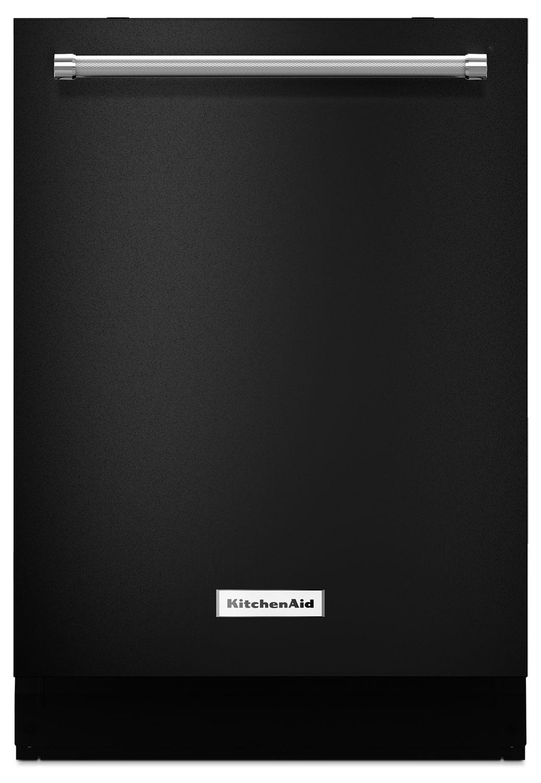 Lave-vaisselle KitchenAid de 23,88 po avec option ProScrub(MD) - noir