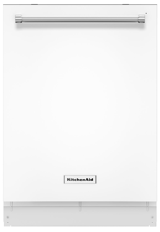 Lave-vaisselle KitchenAid de 24 po avec option ProScrub(MD) - blanc